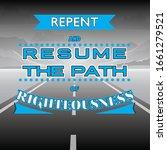 Original Quote Repent And...