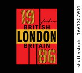 london city fashion slogan... | Shutterstock .eps vector #1661307904