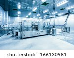 drinks production plant in china | Shutterstock . vector #166130981