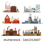 industrial factory  refinery... | Shutterstock .eps vector #1661313607