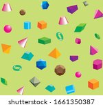 abstract seamless background.... | Shutterstock .eps vector #1661350387