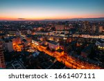 Evening Voronezh Aerial...