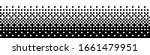 square pixel halftone. black... | Shutterstock .eps vector #1661479951