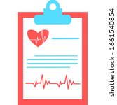 medical report icon. clinical...   Shutterstock .eps vector #1661540854