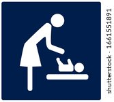 baby room icon. attention...   Shutterstock .eps vector #1661551891