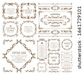 useful as a set of vintage... | Shutterstock .eps vector #1661729101