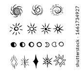 hand drawn illustration circle...   Shutterstock .eps vector #1661734927