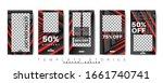 trendy editable template for... | Shutterstock .eps vector #1661740741