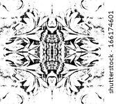 Symmetrical Floral Pattern...