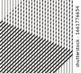 pattern with interlacing black...   Shutterstock .eps vector #1661776654