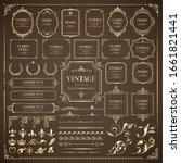 Vintage Vector Frames   Set Of...