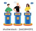 clever intelligent people...   Shutterstock .eps vector #1661844391