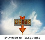 aged and worn vintage photo of ... | Shutterstock . vector #166184861