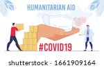 humanitarian support  goodwill... | Shutterstock .eps vector #1661909164