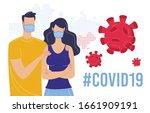 coronavirus epidemic global...   Shutterstock .eps vector #1661909191