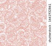 blooming roses seamless pattern....