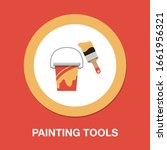 vector painting bucket... | Shutterstock .eps vector #1661956321