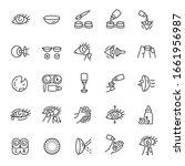 contact lens  icon set.... | Shutterstock .eps vector #1661956987