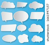 Design Template Speech Bubble...