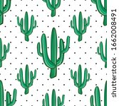 vector seamless pattern with... | Shutterstock .eps vector #1662008491