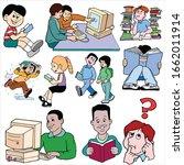primary school children great... | Shutterstock . vector #1662011914