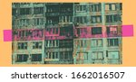 decorative background with... | Shutterstock .eps vector #1662016507