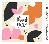 vector beautiful greeting card...   Shutterstock .eps vector #1662042874