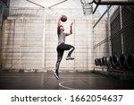 Young Asian Man Basketball...