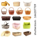Collage Of Different Wicker...