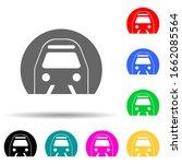 metro multi color style icon....