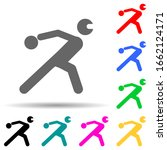 disabled sport ball sign multi...