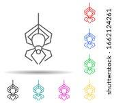 arachind multi color style icon....