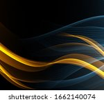 abstract color wave design... | Shutterstock . vector #1662140074