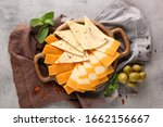 Assortment Of Cheeses. Sliced...