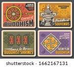 buddhism religion  meditation...   Shutterstock .eps vector #1662167131