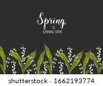 spring background with hand... | Shutterstock .eps vector #1662193774