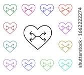 heart shuffle button multi...