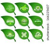 logo label symbol vegetarian...   Shutterstock .eps vector #166225607