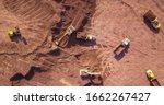 Earthmoving Equipment. Aerial...