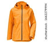 Orange Stylish Rain Jacket...