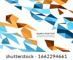 color abstract geometric banner ... | Shutterstock . vector #1662294661