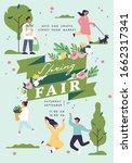 vector spring fair poster ...   Shutterstock .eps vector #1662317341