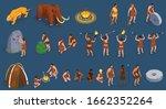caveman prehistoric primitive... | Shutterstock .eps vector #1662352264