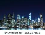 Manhattan Skyline At Night...