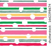 seamless simple pattern with... | Shutterstock .eps vector #1662398674