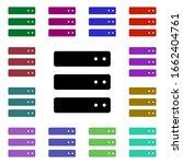 data storage multi color style...