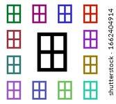 window multi color style icon....
