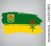 flag of saskatchewan brush...
