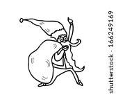 hand drawing cartoon character... | Shutterstock .eps vector #166249169