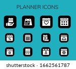 modern simple set of planner...